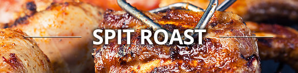 spit roast featured Gourmet BBQ