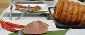 spit roast pork 300x125 Classic Spit Roast Pickup