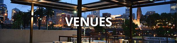 venues menu Weddings