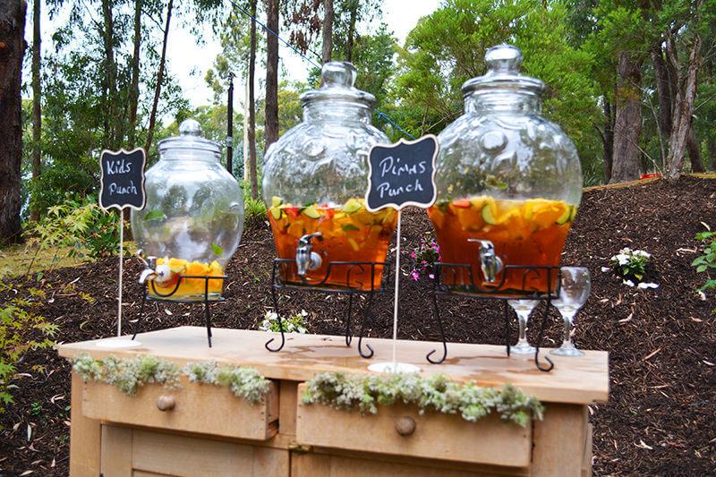 wedding drinks Weddings
